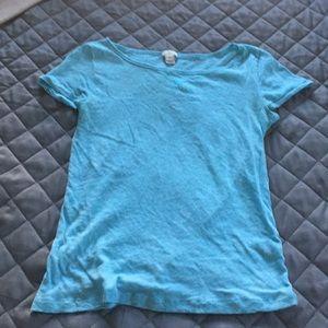 Cute blue t-shirt